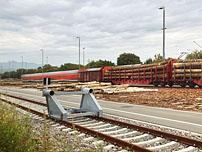 Infrastrukturanlagen im Güterbahnhof Neuenburg am Rhein 1